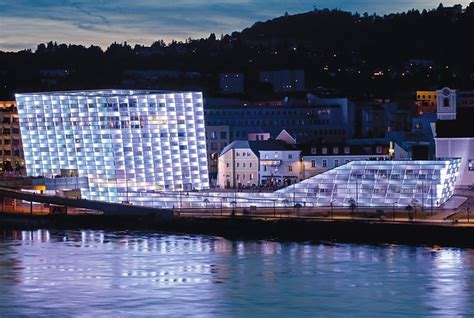 light facade ars electronica center flickr photo sharing