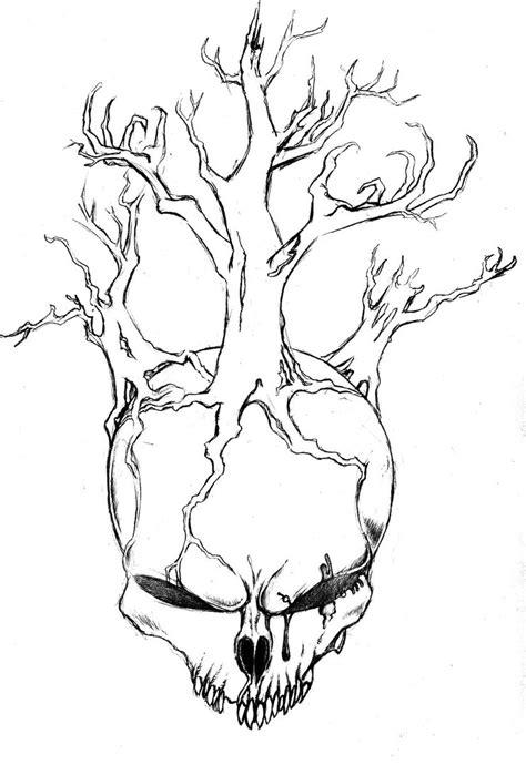 Skull Tree Cttw Bornpagan Deviantart