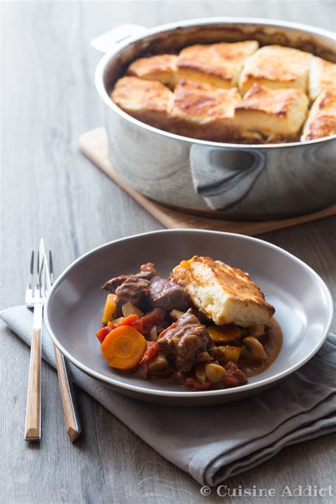 cuisine addic beef stew with cheese biscuits cuisine addict