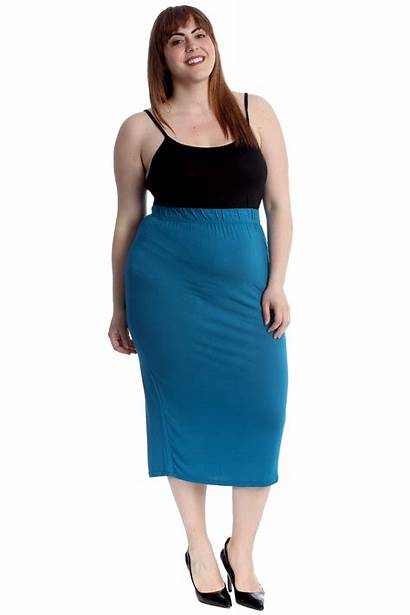 Pencil Skirt Skirts Office Stretch Ladies Bodycon