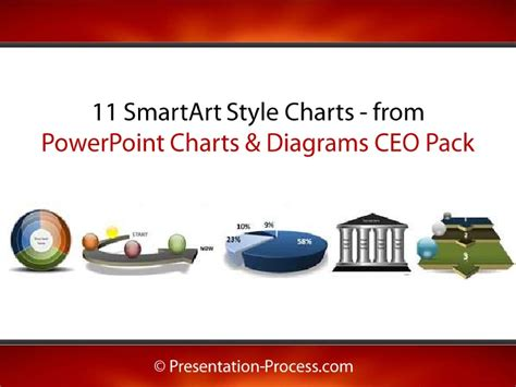 smartart powerpoint templates 11 smartart style charts from powerpoint ceo pack