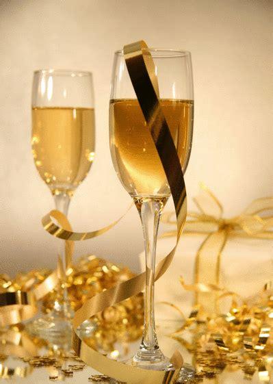 carte coupes de champagne envoyer une carte de voeux