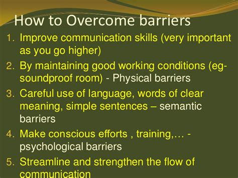 Simple Definition Of Decorous by Barriers To Communication