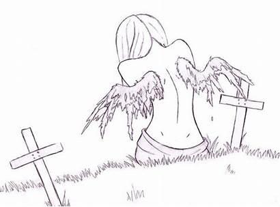 Depressing Drawings Depressed Quotes Depression Sad Coloring
