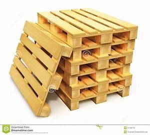 Palette Bois Gratuite : pile de palettes en bois d 39 exp dition illustration stock ~ Melissatoandfro.com Idées de Décoration