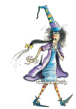 aventuras  desventuras de la bruja brunilda halloween