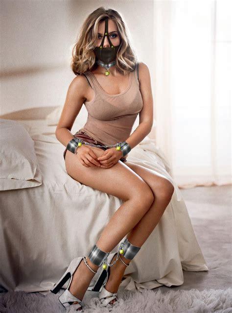 Scarlett Johansson Gagged