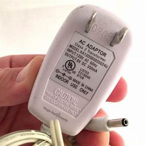 Ka12d060035024u Power Supply Adapter 120v Ac 60hz 6v Dc