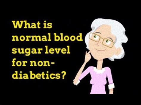 normal blood sugar level   diabetics youtube
