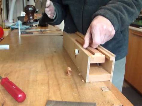 hand plane thicknesser woodworking gadget youtube