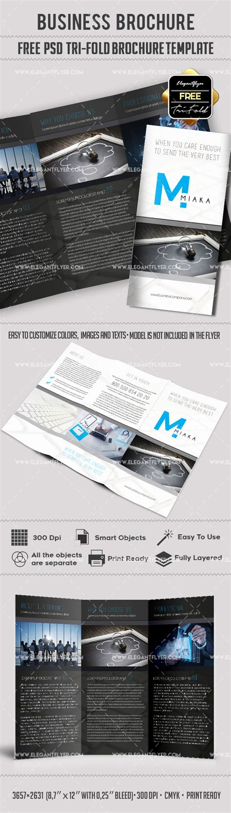 Tri Fold Brochure Templates Free By Elegantflyer Tri Fold Brochure Templates Free By Elegantflyer
