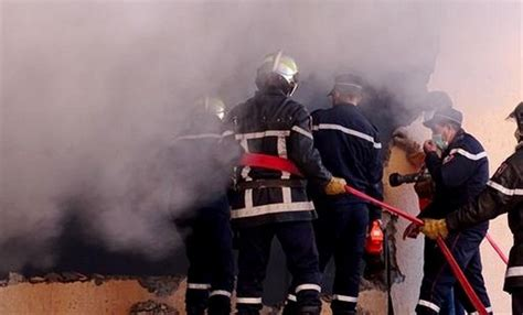 Constantine: incendie dans une unité de fabrication de médicament dans la commune de Benbadis ...