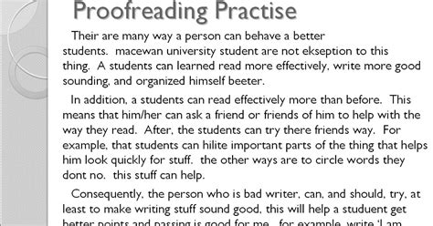 proofreading worksheet year 6 rcnschool