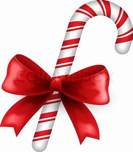 Christmas candy Stock Vector Colourbox