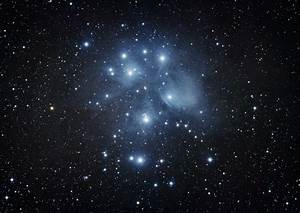 DSLR Astrophotograhy Image: The Pleiades Star Cluster ...