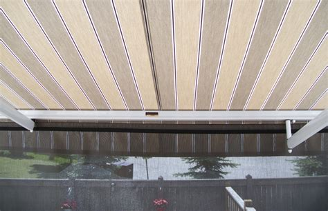 awning  removable front valance rolltec retractable awnings toronto ontario canada