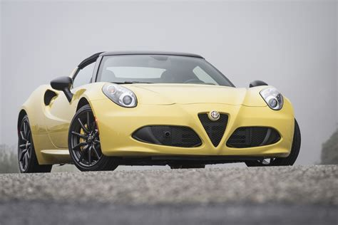 2019 Alfa Romeo 4c Spider Gets Cruise Control As Standard