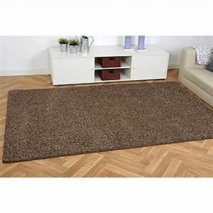 Hochflor Teppich Braun : hochflor teppich shaggy alicant braun nach ma pflegeleicht schadstoffgepr ft ~ Orissabook.com Haus und Dekorationen