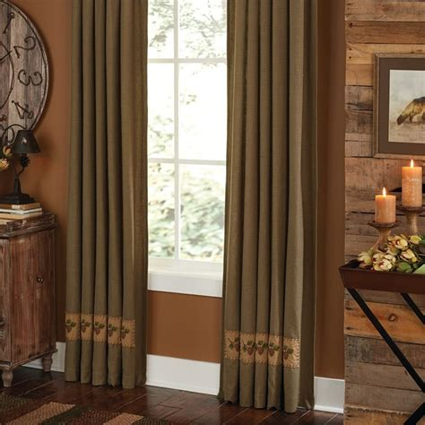 pineview lined single curtain panel
