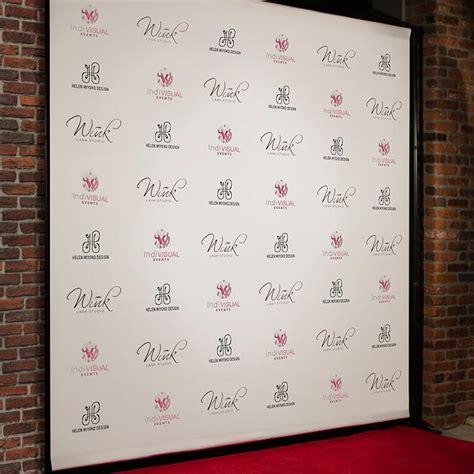 backdrop stand  red carpet package