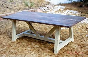 PDF DIY Farmhouse Table Plans Book Download fine