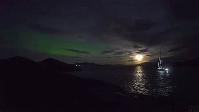 Night Norway Giphy Gifs Cinemagraph Moonlit Sovn