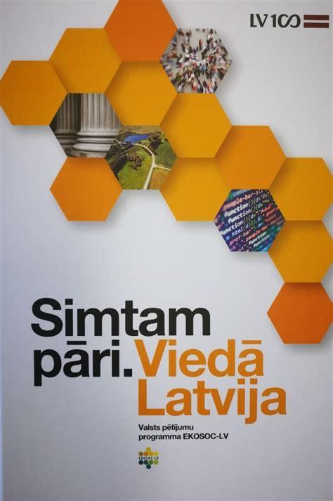 Iznākusi valsts pētījumu programmas (VPP) EKOSOC-LV ...