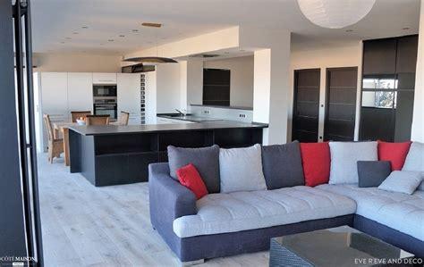 cuisine d été design appartement moderne à valence jayet côté maison