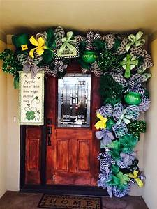 St Patricks Day Front Porch Decorations