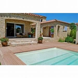 une terrasse avec piscine en bois esthetisme et authenticite With terrasse bois avec piscine