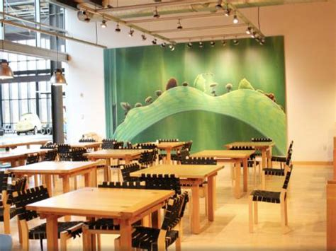 inspirasi kantin cafe kantor perusahaan terbaik  dunia