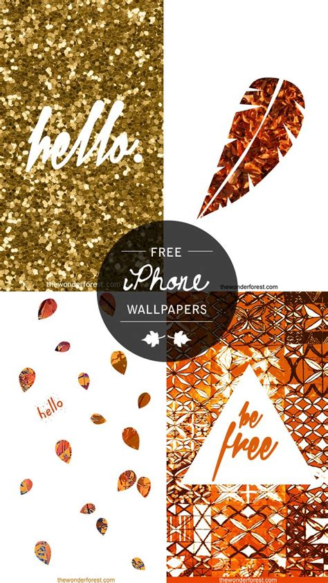 Glitter Fall Iphone Wallpaper by Free Fall Inspired Iphone Ipod Wallpapers Enjoy Ipod