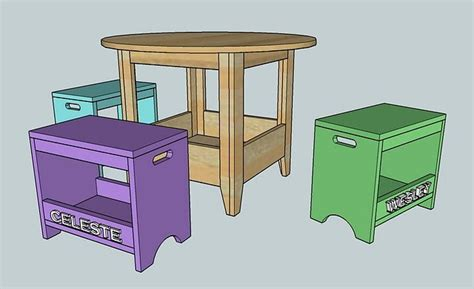 ana white plan kids storage play table diy projects