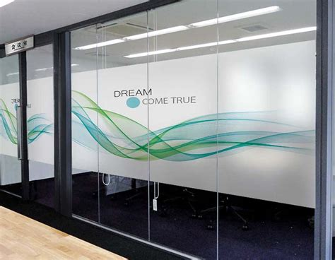 FROSTED GLASS STICKER DUBAI, FROSTED STICKER, OFFICE GLASS