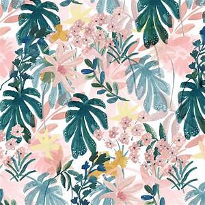Floral pattern, flowers, springtime, pattern design ...