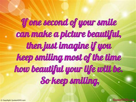 smile  beautiful quotes quotesgram
