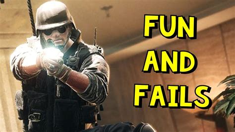 Rainbow Six Siege Fun And Fails Youtube