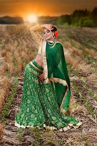 outdoor bridal portrait shoot by impressions by mohit