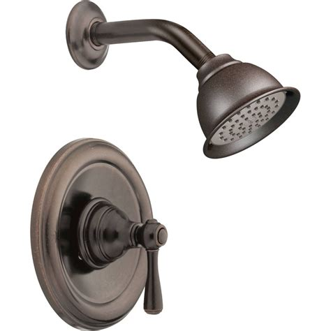 moen kitchen faucets moen t2112orb kingsley rubbed bronze one handle shower