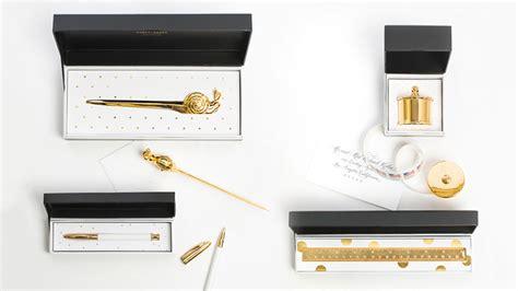 brass snail mail letter opener sugar paper sugar paper debuts chic desk accessories pret a reporter 83959