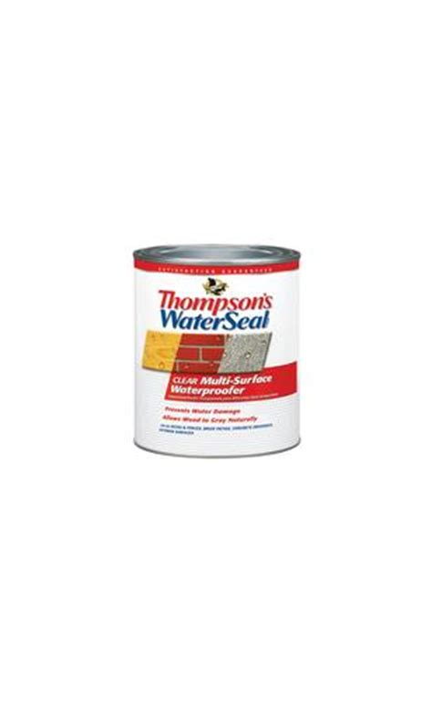 thompsons water seal multi surface waterproofer  menards