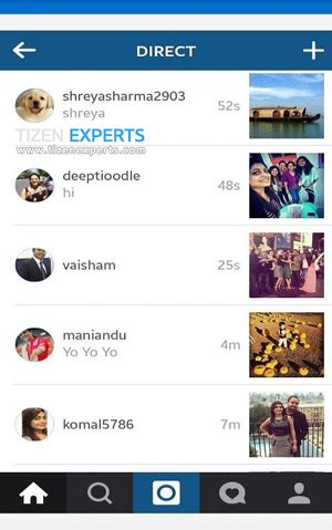 application official messenger and instagram apps released for samsung z1 tizen experts