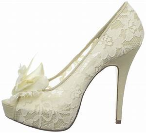 Lace ivory shoes for wedding 2016 for Wedding dress shoes ivory