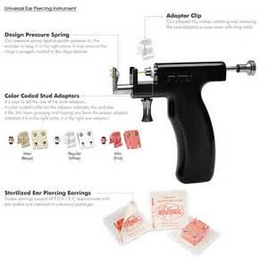 aluminum earrings earing studs earing guns ear piercing starter kit