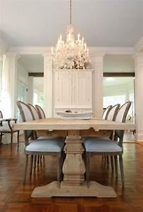 Restoration Hardware Trestle Table - French - dining room