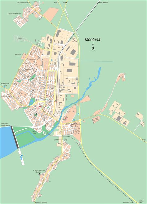 visit  bulgaria map  montana
