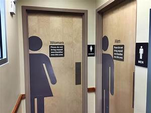 Our bathrooms werent always separated by sex michigan radio for Bathroom porm