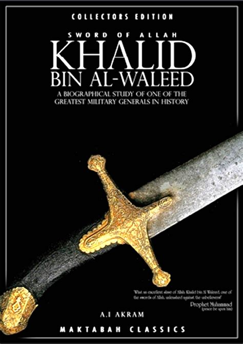 khalid bin al waleed history book