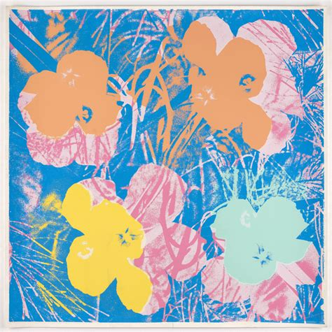 flowers warhol
