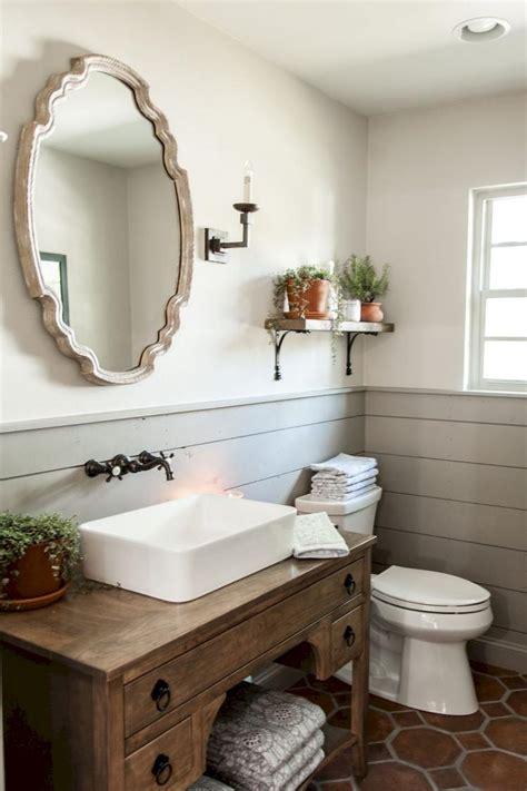 Modern Bathroom Decor Ideas by 70 Modern Farmhouse Bathroom Decor Ideas
